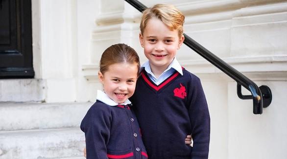 Дети Кейт Миддлтон и принца Уильяма дебютировали на рождественской службе