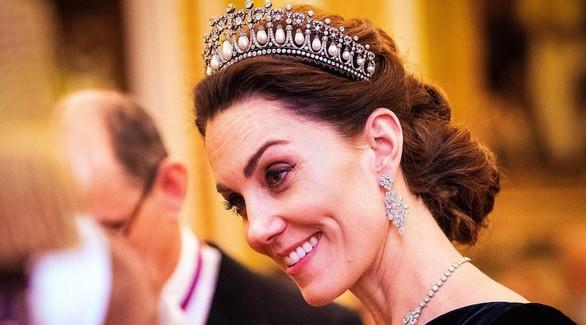 Кейт Миддлтон появилась на приеме в тиаре принцессы Дианы
