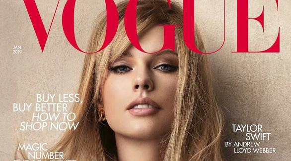 Тейлор Свифт для Vogue: о криповых «Кошках» и подарке от Джуди Денч