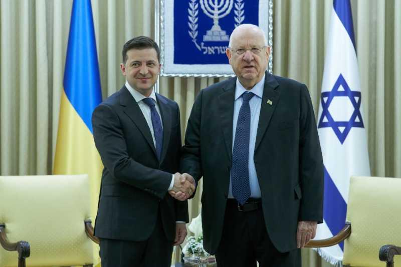 Президент Украины обсудил с Президентом Израиля двусторонние отношения между странами