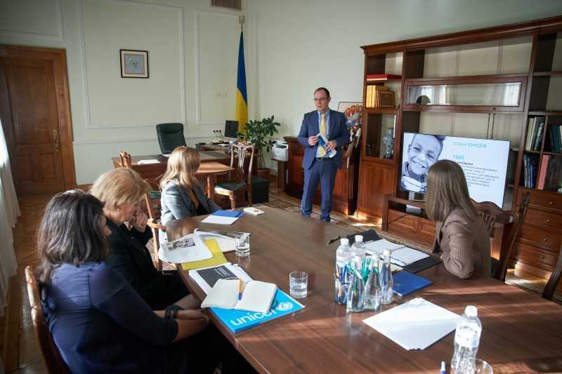 Елена Зеленская и глава ЮНИСЕФ в Украине Лотта Сильвандер обсудили дальнейшее сотрудничество