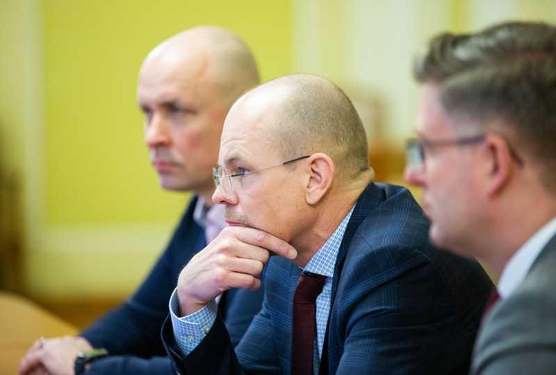 Игорь Жовква обсудил с главой Администрации Президента Эстонии подготовку Второго цифрового форума