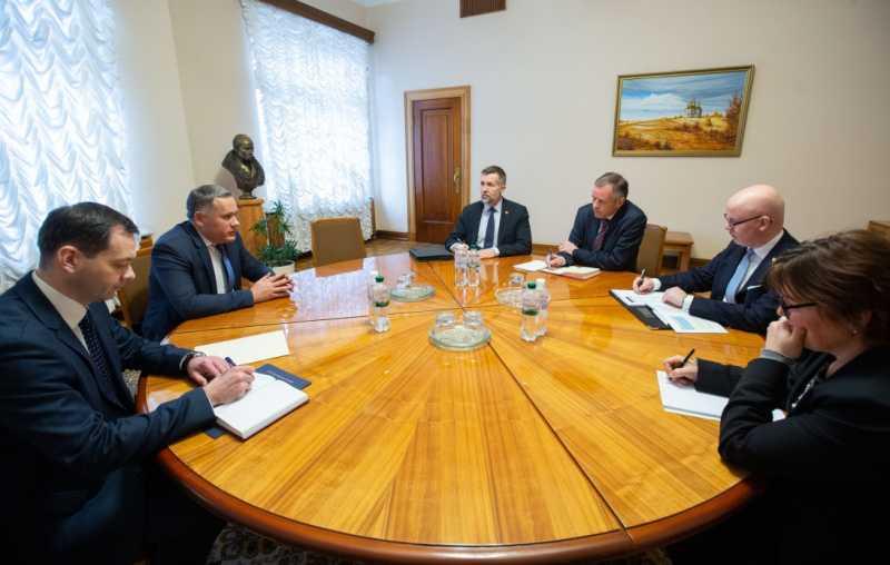 Игорь Жовква провел встречу с государственным секретарем Министерства иностранных дел Королевства Норвегия