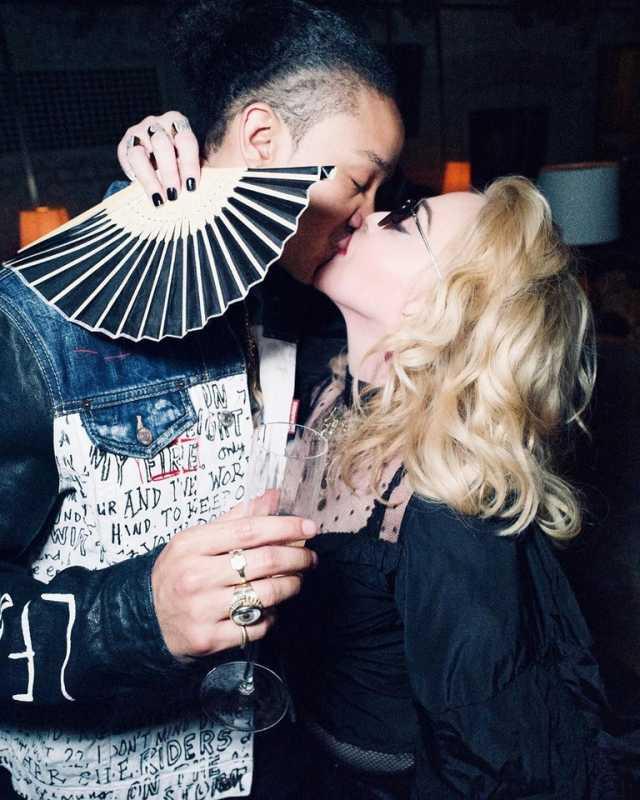 Мадонна со своим бойфрендом