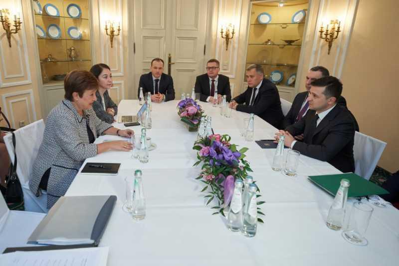 Президент после встречи с директором-распорядителем Международного валютного фонда: У Украины и МВФ – дружеские отношения