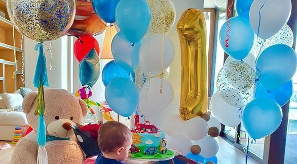 «Спасибо, что выбрал нас»: Виктория Лопырева поздравила сына с днем рождения