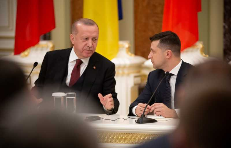 Украина и Турция и в дальнейшем будут развивать политическое партнерство – Владимир Зеленский