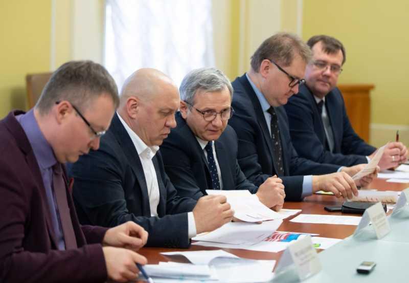 В Офисе Президента Украины обсудили проблемы химической промышленности