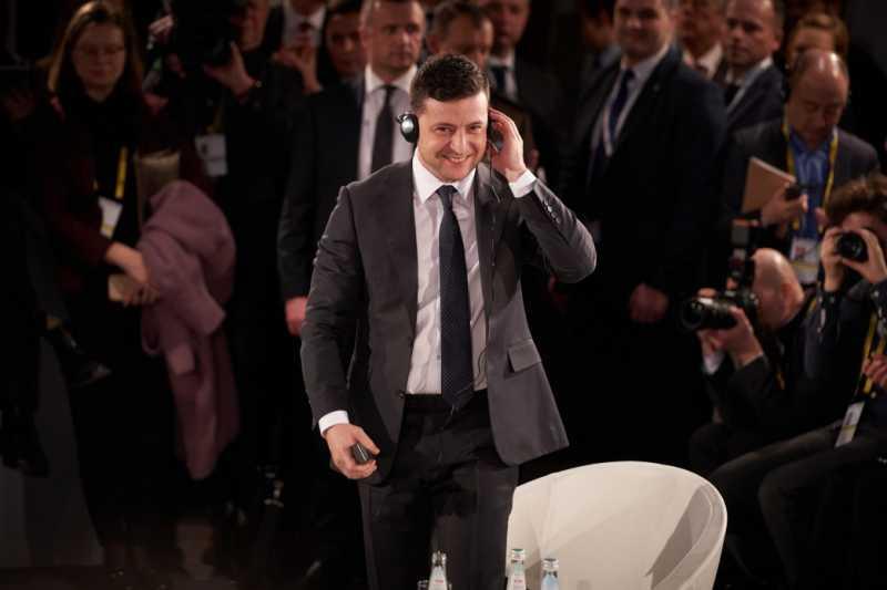 Владимир Зеленский: Мы пытаемся изменить негативный имидж Украины