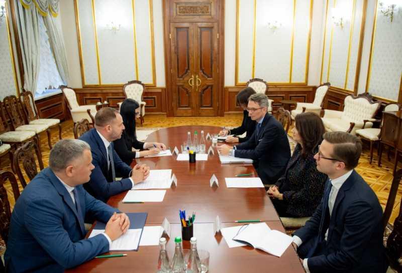 Андрей Ермак провел встречу с министром иностранных дел Швеции Анн Линде