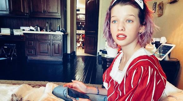 По маминым стопам: Дочь Миллы Йовович появится в фильмах Marvel и Disney
