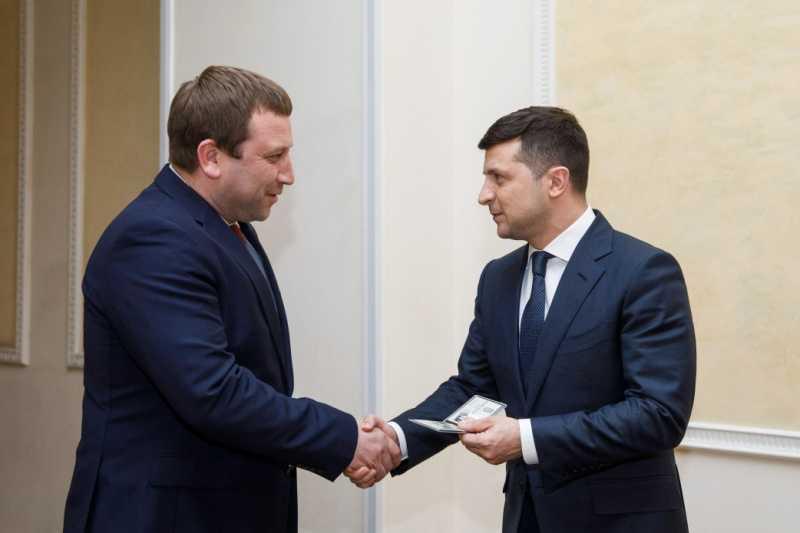 Президент провел встречу с новоназначенным главой Тернопольской ОГА