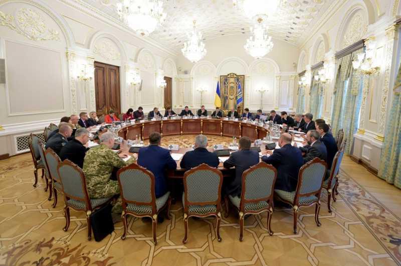 Совет национальной безопасности и обороны обсудил меры по противодействию распространению коронавируса в Украине