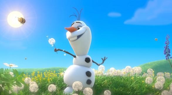 Disney «на удаленке» выпустил мультик о снеговике Олафе
