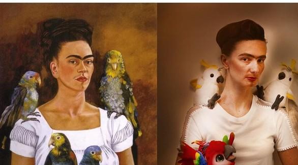 Флешмоб #изоизоляция: известные картины из подручных средств