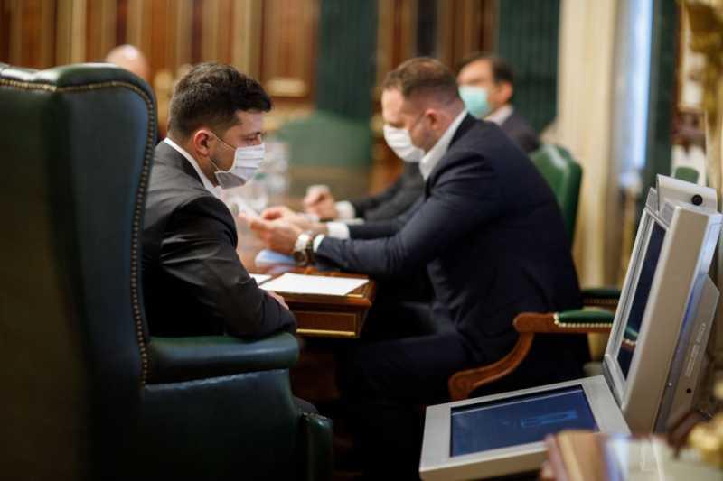 В Офисе Президента состоялось традиционное совещание по борьбе с COVID-19