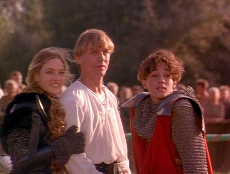 Кадр из фильма «Первый рыцарь при дворе короля Артура»