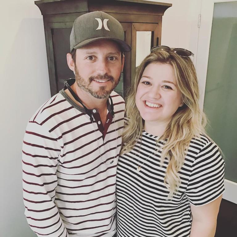 Келли Кларксон с мужем