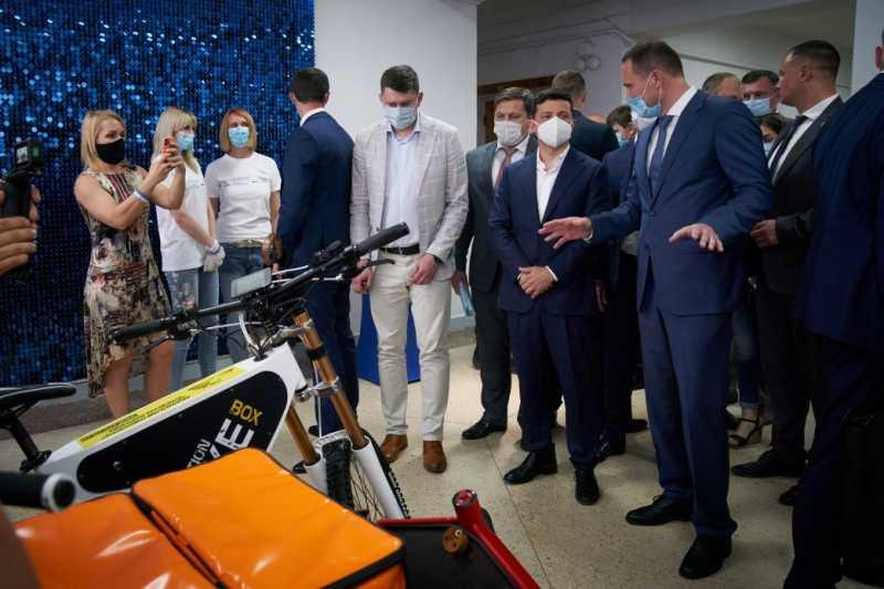 Глава государства ознакомился с достижениями и разработками Черниговского национального технологического университета