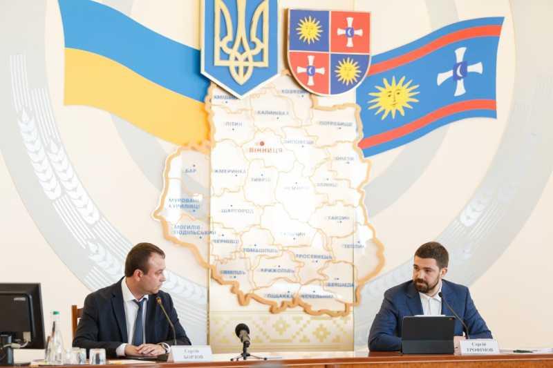 По поручению Президента Украины Сергей Трофимов представил нового главу Винницкой ОГА Сергея Борзова