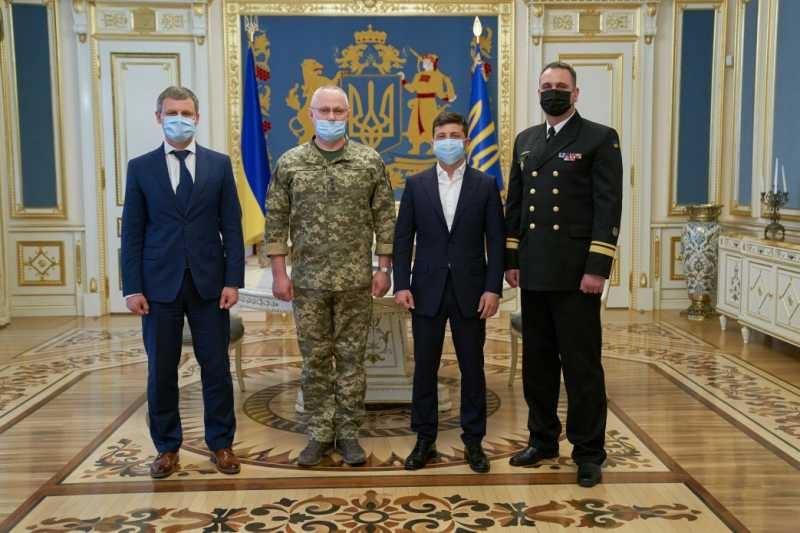 Президент назначил Алексея Неижпапу командующим ВМС Украины