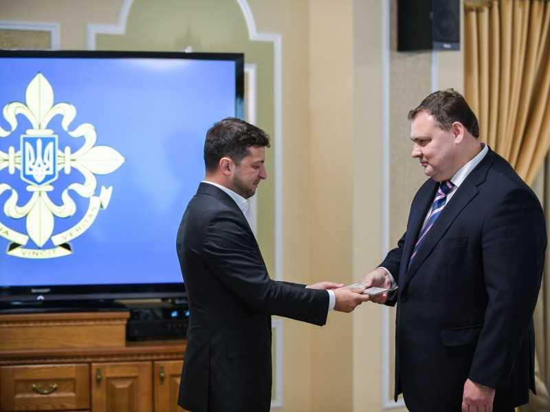 Президент представил нового главу Службы внешней разведки Украины