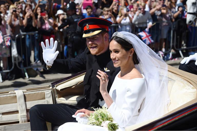 Свадьба Меган Маркл и принца Гарри