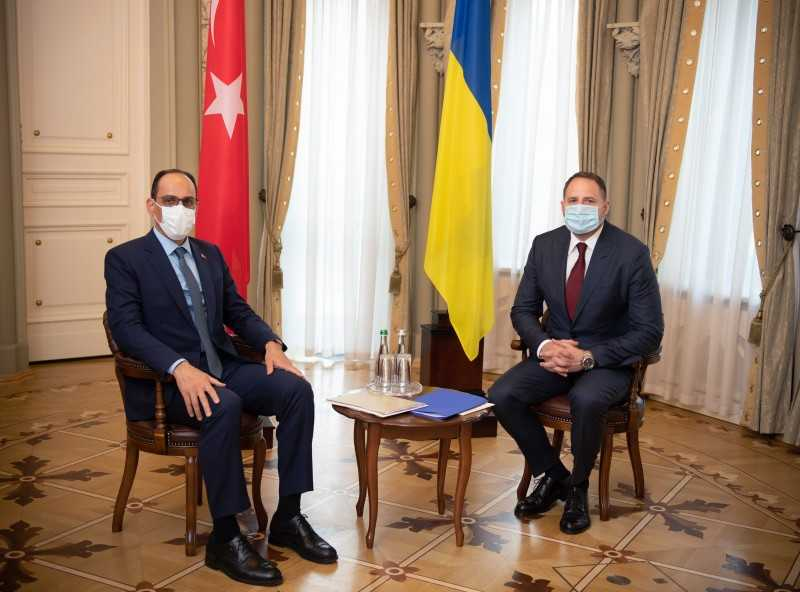 В Офисе Президента состоялась встреча украинской и турецкой делегаций по углублению двусторонних отношений