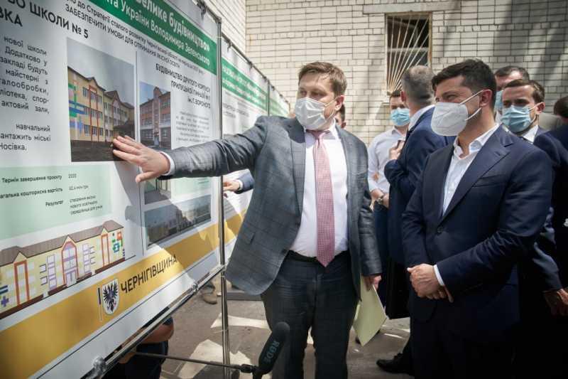 Владимир Зеленский проверил объекты «Большого строительства» на Черниговщине
