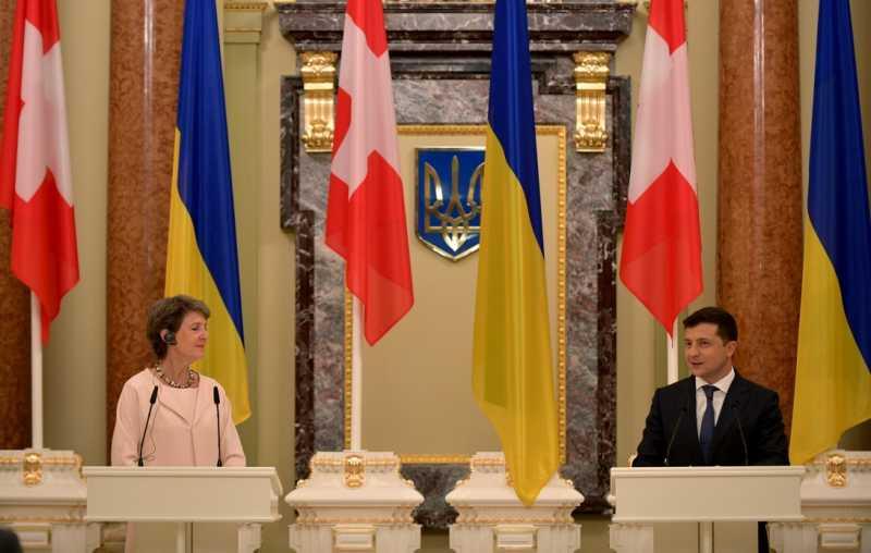 Для реализации Программы сотрудничества Швейцарии с Украиной выделено 108 млн швейцарских франков – Владимир Зеленский