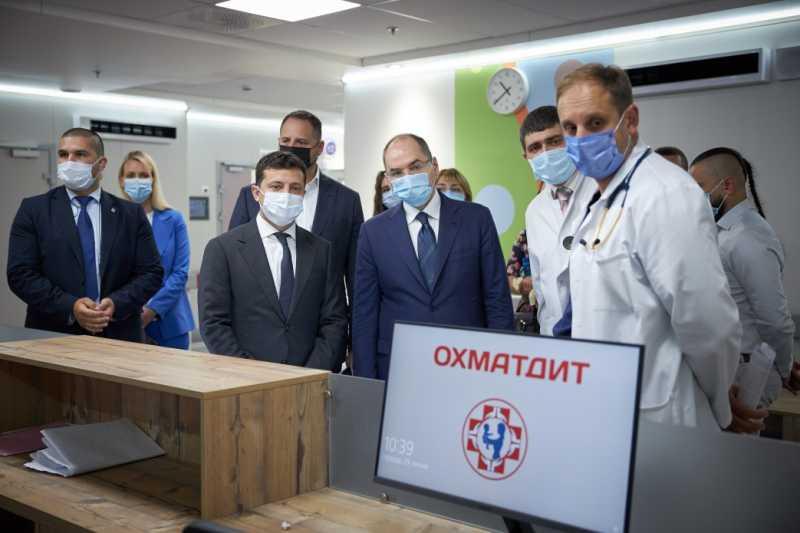 Это поможет сохранить жизни украинских детей – Президент принял участие в открытии второй очереди нового корпуса «Охматдета»