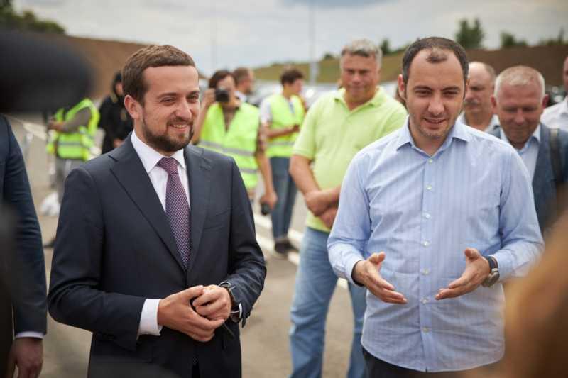 Кирилл Тимошенко принял участие в открытии первой очереди автомобильного обхода Полтавы, возводимого в рамках программы Президента «Большое строительство»
