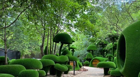 На территории парка «Сказка» откроется зеленое пространство Aiva