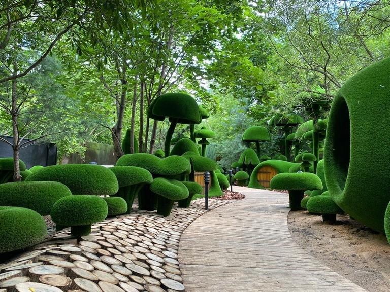 На территории парка «Сказка» откроется зеленое пространство Aiva1