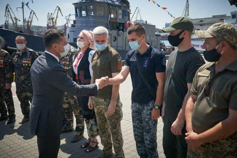 Президент Украины поможет с решением проблем ветеранов Одесчины