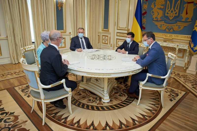 Президент Украины принял верительные грамоты у послов Дании, Афганистана, Литвы, Черногории и Саудовской Аравии