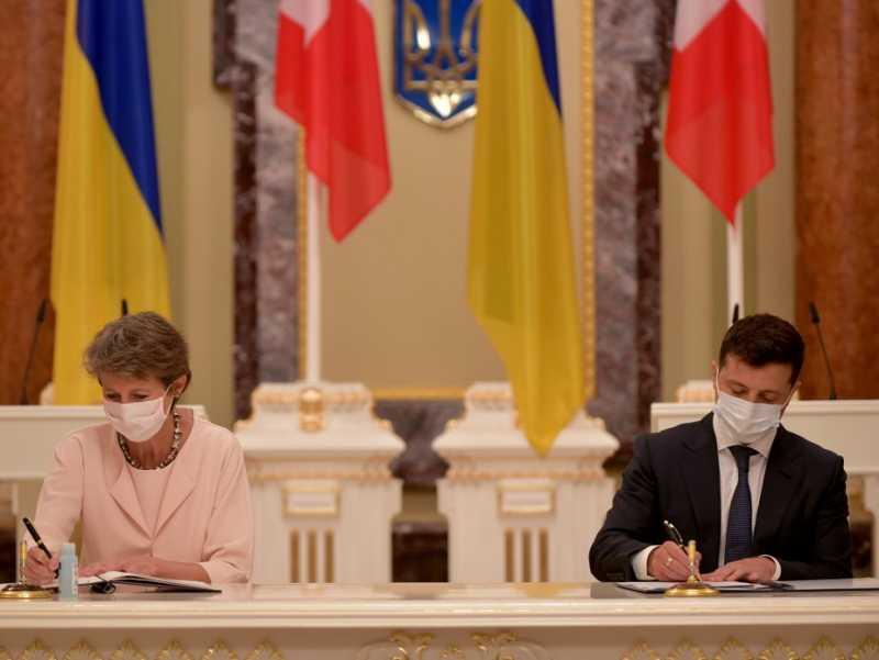 Украина и Швейцария подписали ряд двусторонних документов