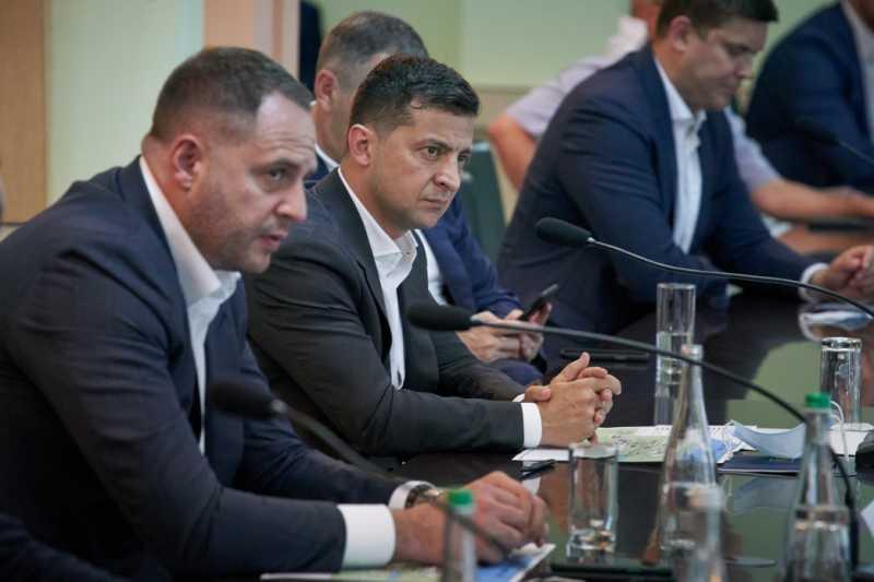 Владимир Зеленский посетил ОПЗ и встретился с предпринимателями Одесской области