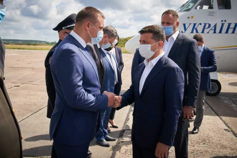 Владимир Зеленский прибыл с рабочей поездкой на Волынь