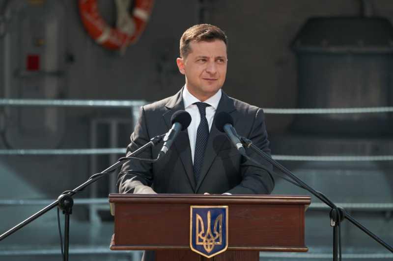 Владимир Зеленский: Сделаю все, чтобы украинский флот был образцом мощности, современности и стал настоящей гордостью Украины
