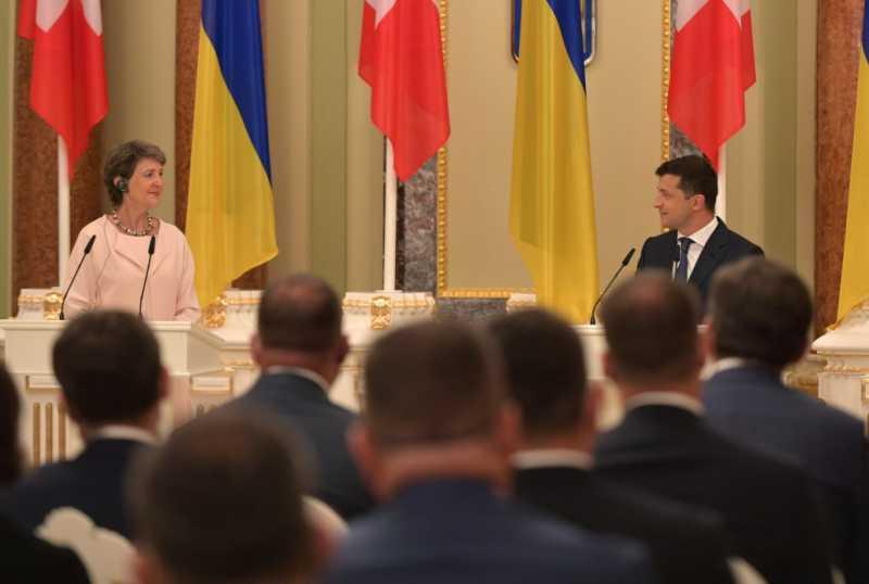 Владимир Зеленский: Верю, что Швейцария поможет Украине в вопросах предотвращения коррупции