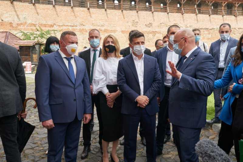 Владимиру Зеленскому представили шесть туристических «магнитов» Волыни
