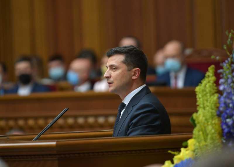 Выступление Президента Украины на торжественном заседании Верховной Рады по случаю 30-летия принятия Декларации о государственном суверенитете