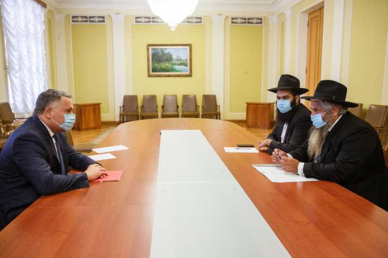 Игорь Жовква встретился с главным раввином Украины и Киева Моше Реувеном Асманом
