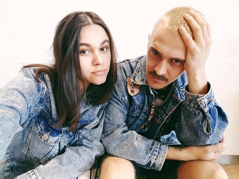 Ира Смелая и Илья Прусикин (Little Big)