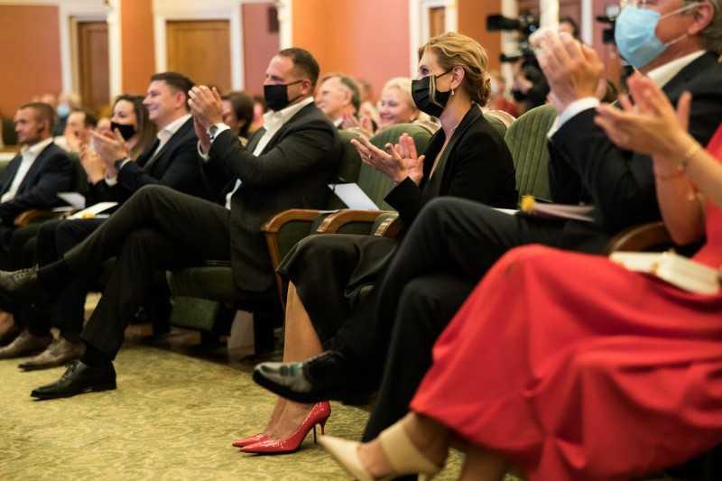 Президент поздравил театр им. Франко со столетием: Вы действительно мастера сцены, к вам большое уважение