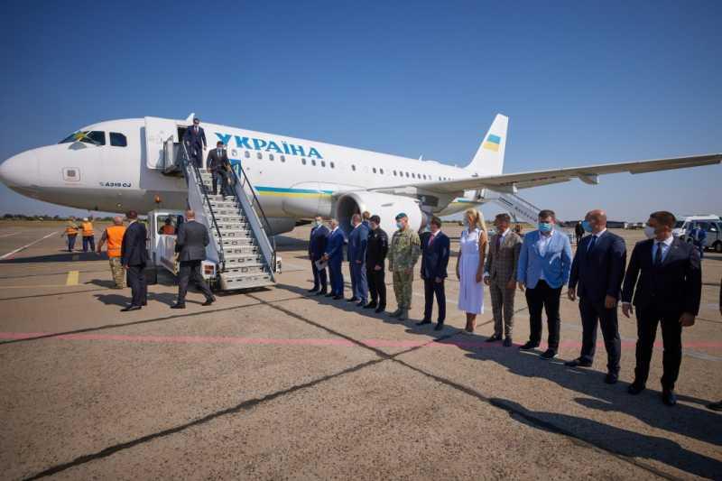 Президент прибыл с рабочей поездкой на Николаевщину