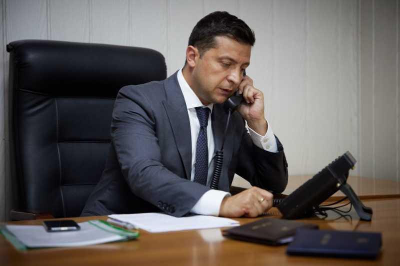 Президент Украины провел телефонный разговор с Государственным секретарем США