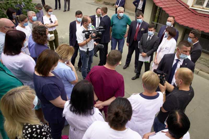 Президент встретился с медиками Херсонщины и обсудил видение медицинской реформы