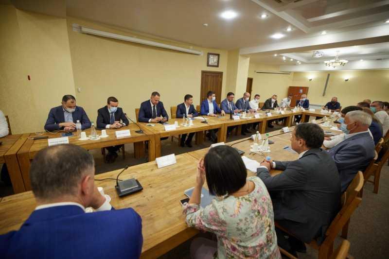 Президент встретился с предпринимателями Кировоградщины